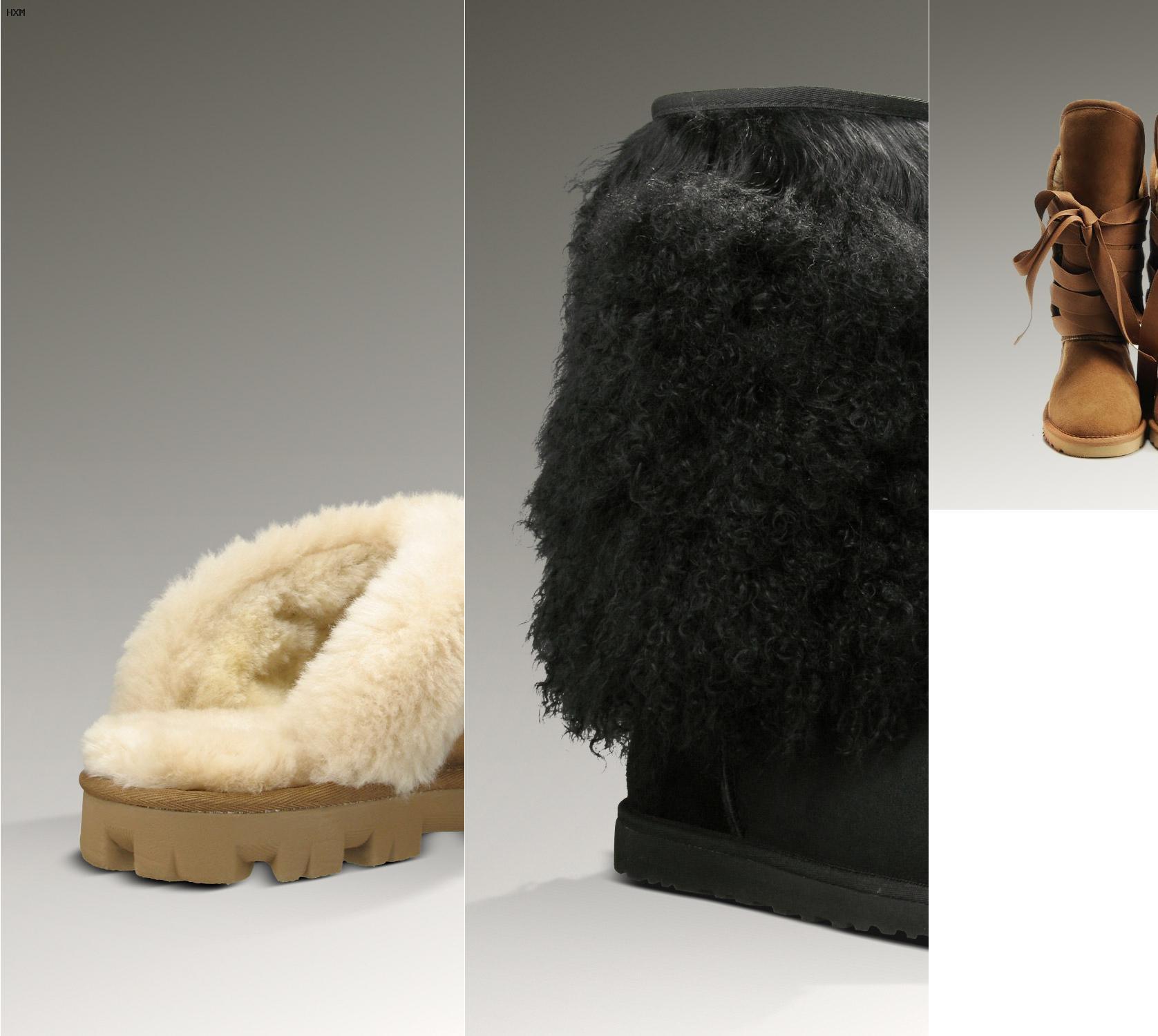 ugg milla fur cuff boots